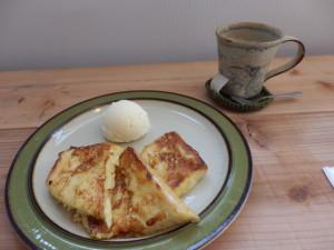 Cafe 朝日「フレンチトースト」